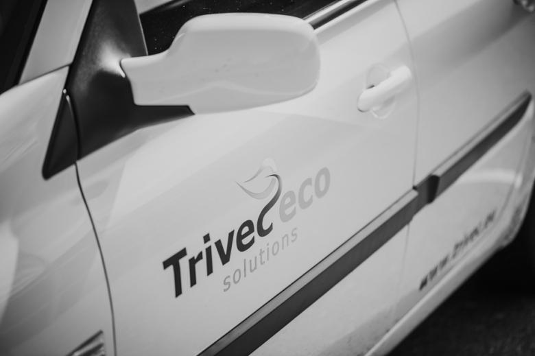 bedrijfsauto Trivec door Nickie Fotografie