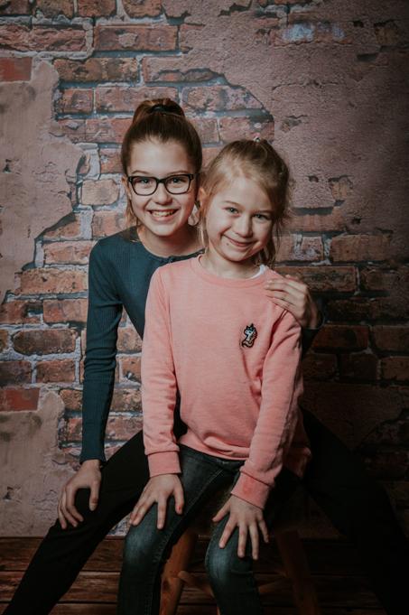 Portret van zusjes door Nickie Fotografie