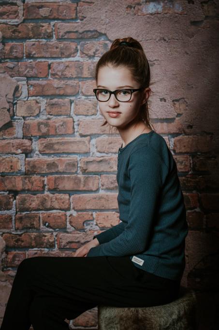 Portret van meisje door Nickie Fotografie