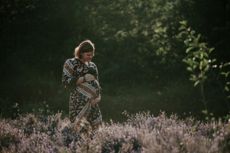 zwangerschapsfotografie door Nickie Fotografie.