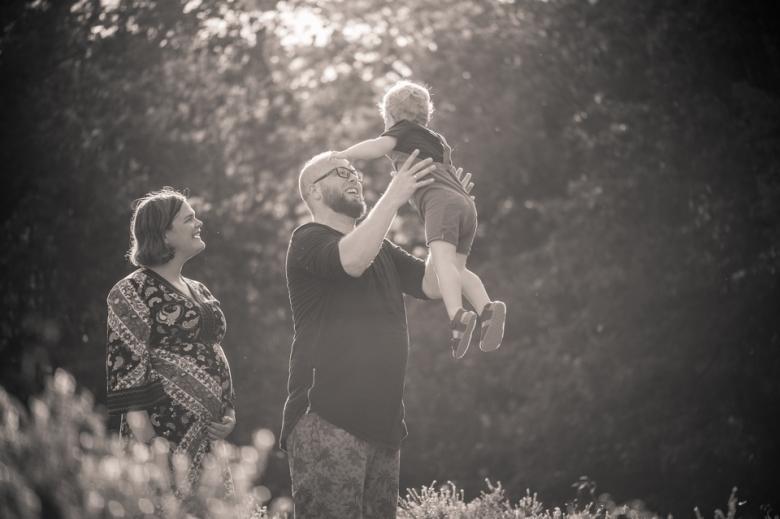 Familiefotografie door Nickie Fotografie.