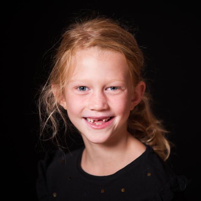 Kinderportret door Nickie Fotografie